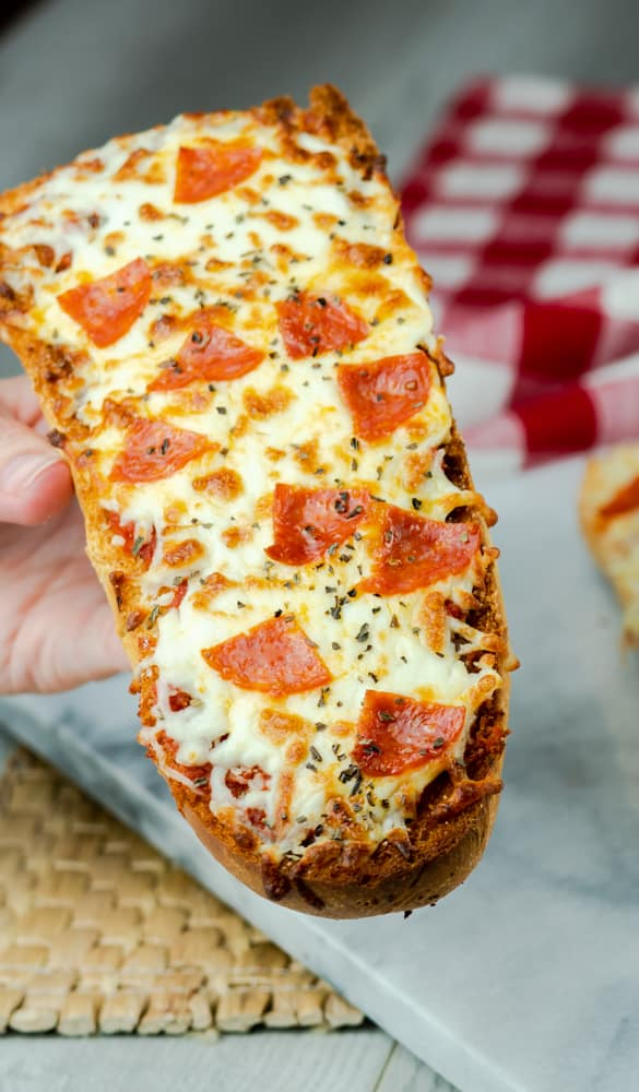 Air Fryer French Bread Pizza Mama Needs Cake