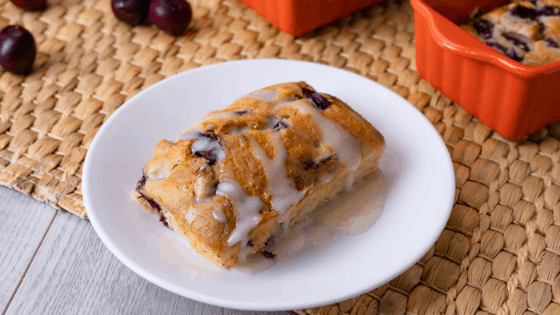 Mini Loaf Cherry Cakes