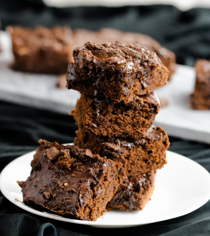 Chewy Mint Chocolate Brownies