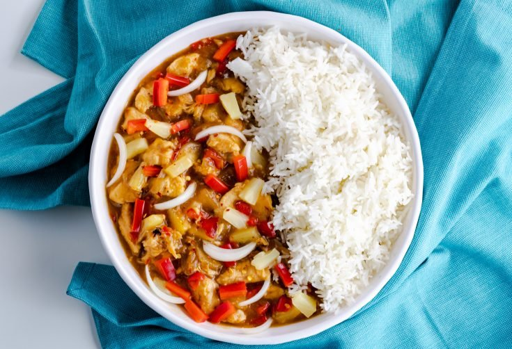 Instant Pot Sweet Chili Chicken & Rice