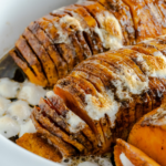 Hasselback Sweet Potato Casserole 2