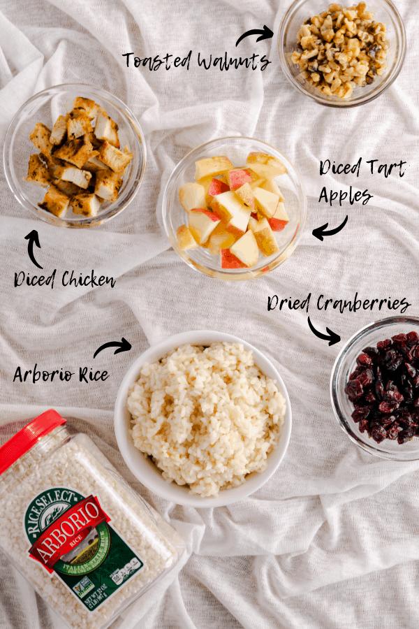 Ingredients Rice