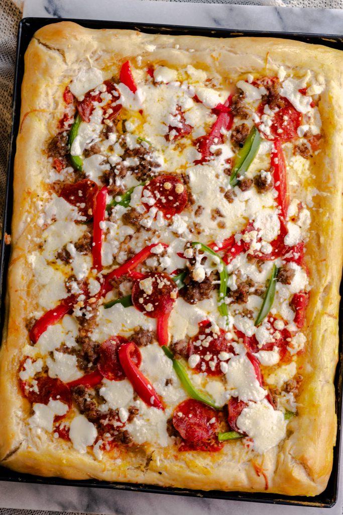 quick & easy Sicilian Pizza