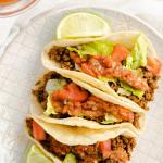 Restaurant Style Ground Beef Tacos