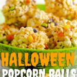 Halloween Popcorn Balls Pin Image 2