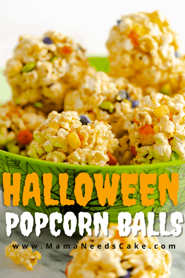 Halloween Popcorn Balls 3