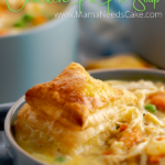 Instant Pot Chicken Pot Pie Soup Pin image 1