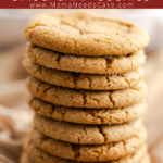Chewy Gingersnap Cookies Pin