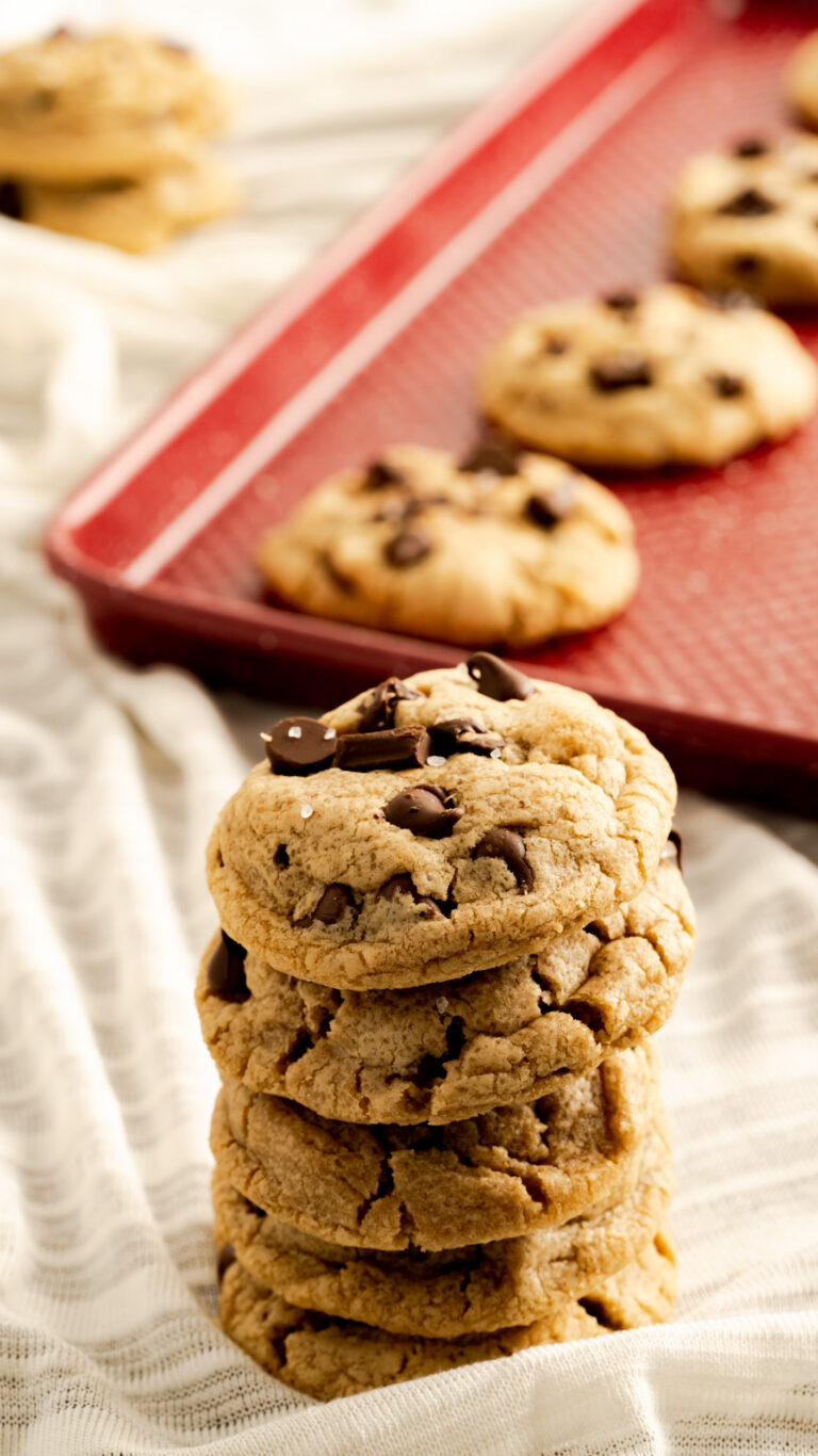 chocolate chip cookies brown butter