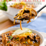 Instant Pot Chipotle Chicken Chili 1