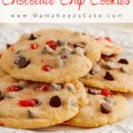 Cherry Chocolate Chip Cookies 3