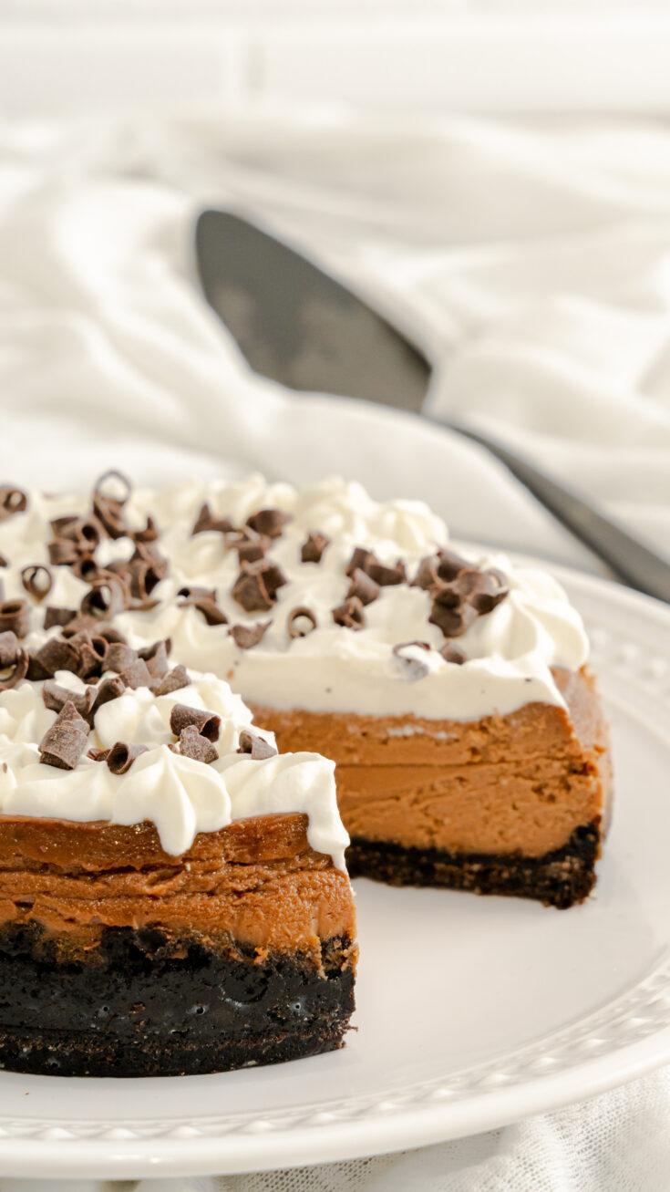 Instant Pot Mudslide Cheesecake