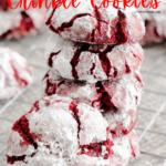 Red Velvet Crinkle Cookies 5