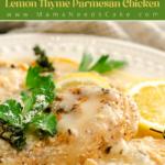 Instant Pot Lemon Thyme Parmesan Chicken 3