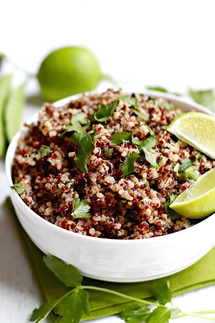 Cilantro Lime Quinoa Recipe