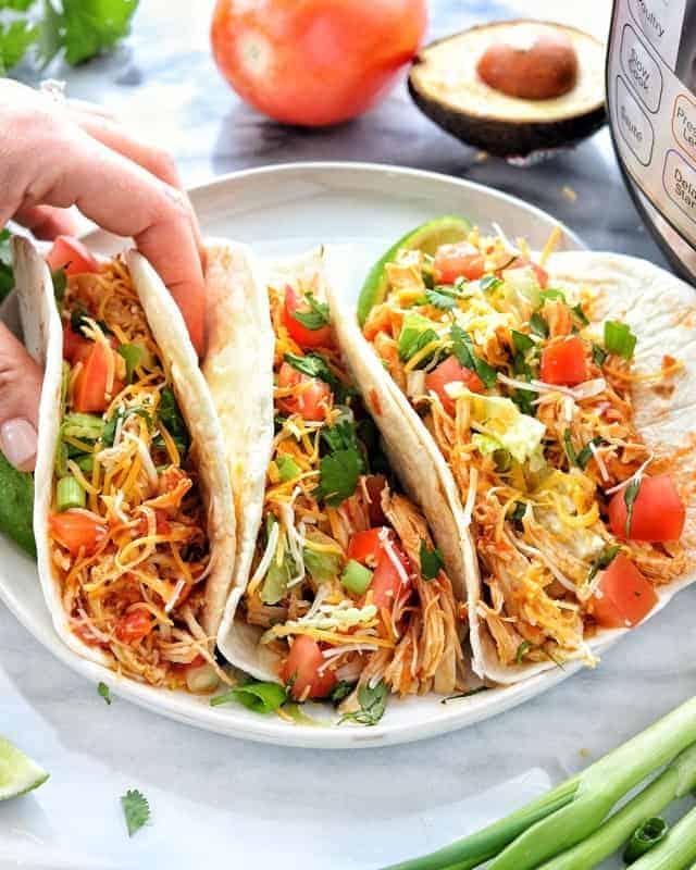 Shredded Chicken Recipe Mexican chicken tacos 2