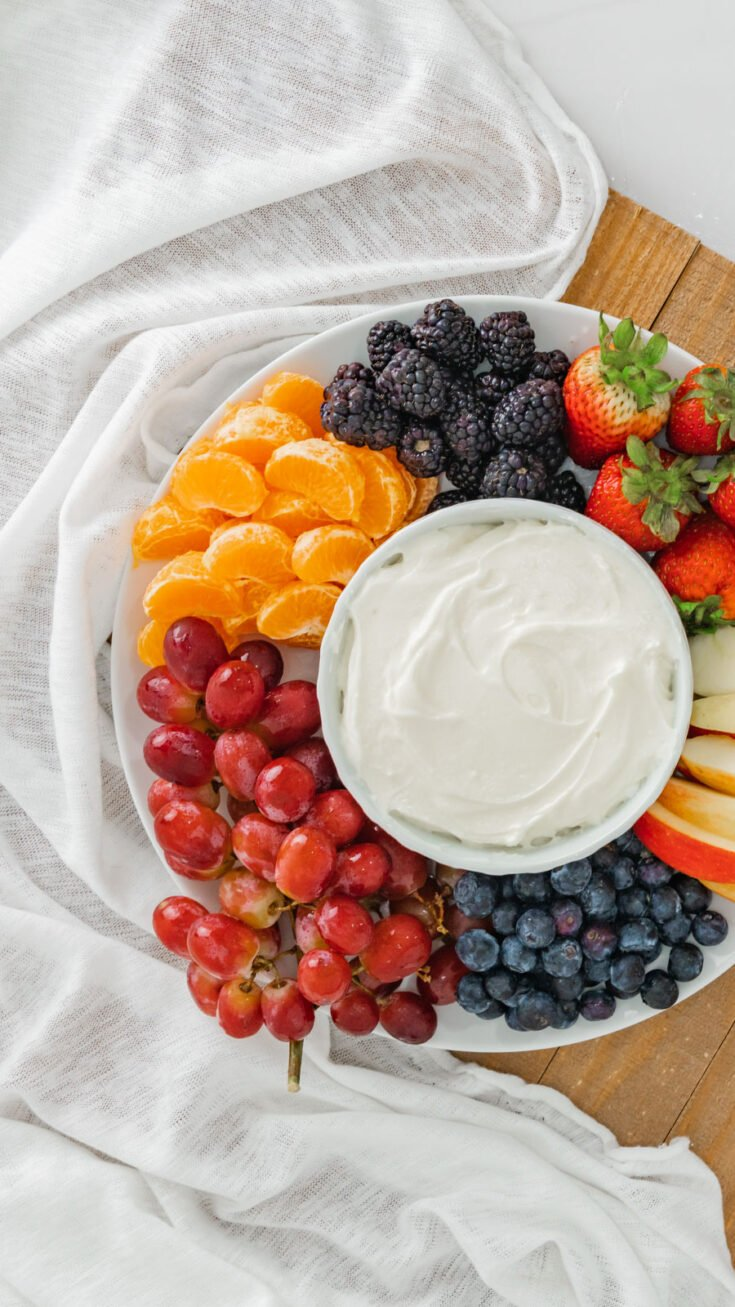 Quick and Delicious Fruit Dip
