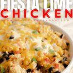 Instant Pot Fiesta Lime Chicken