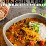 Instant Pot Pumpkin Chili Pin