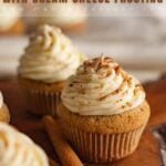 Spice Cupcakes with Cream Cheese Frosting Pin
