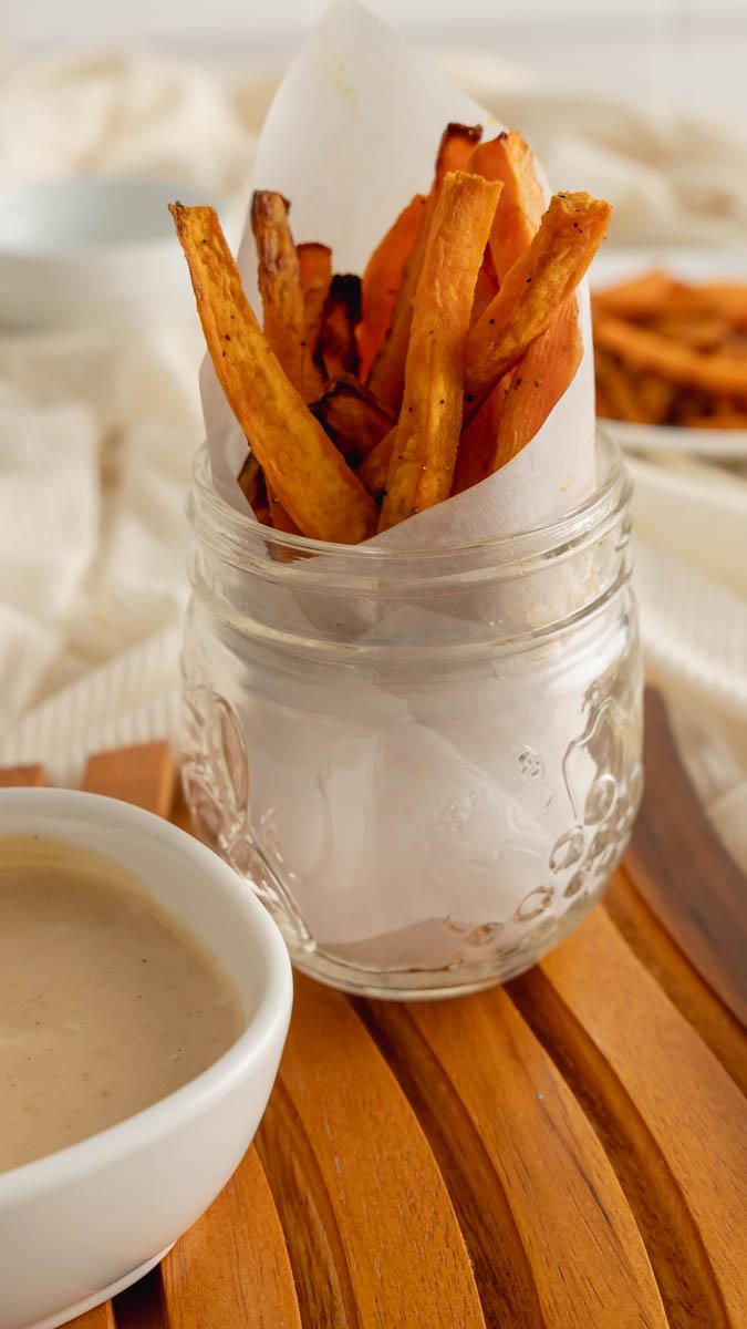 air fryer sweet potato fries 7