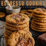 Chocolate Espresso Cookies Pin