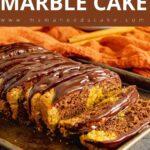 Chocolate Pumpkin Marble Cake Pin