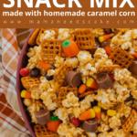 Harvest Popcorn Snack Mix Pin