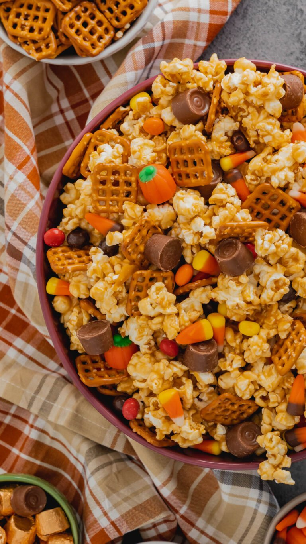 harvest popcorn snack mix 3